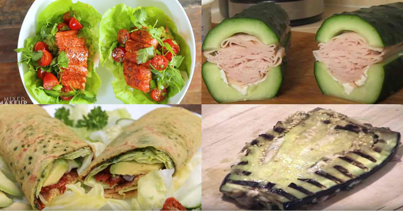 9 Amazing Bread-Less Sandwich Ideas That Will Make You Drool