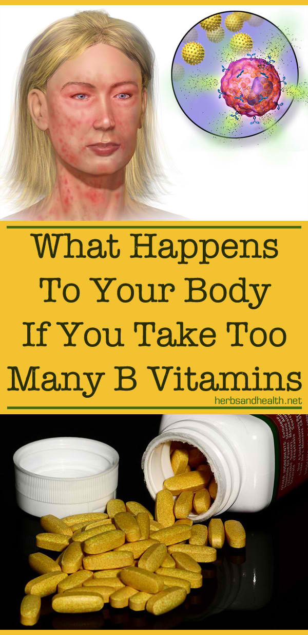 What Happens To Your Body If You Take Too Many B Vitamins