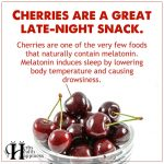 Cherries Are A Great Late-Night Snack