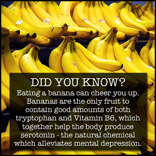 Eating A Banana Can Cheer You Up