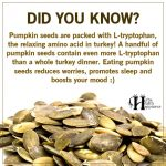 Pumpkin Seeds Are Packed With L-Tryptophan