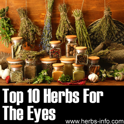 Herbs For The Eyes