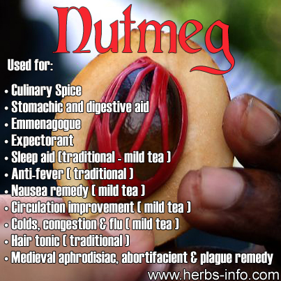 Uses Of Nutmeg