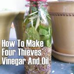 How To Make Four Thieves' Vinegar And Oil