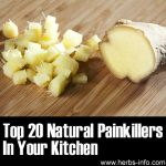 Top 20 Natural Painkillers In Your Kitchen