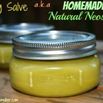 "How To Make An All-Natural ""Boo Boo"" Healing Salve"