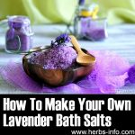 How To Make Your Own Super Relaxing Lavender Bath Salts