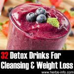 32 Detox Drinks For Cleansing And Weight Loss (Ultimate Collection)
