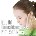 Top 10 Home Remedies For Earaches