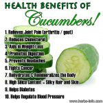 10 Health Benefits of Cucumbers