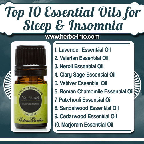 Top 10 Essential Oils for Sleep Insomnia