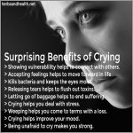 Crying Has These Surprising Health Benefits
