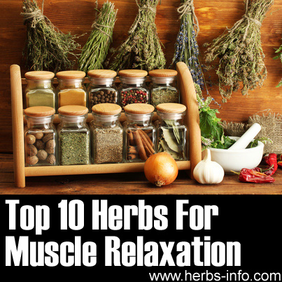 Herbs For Muscle Relaxation